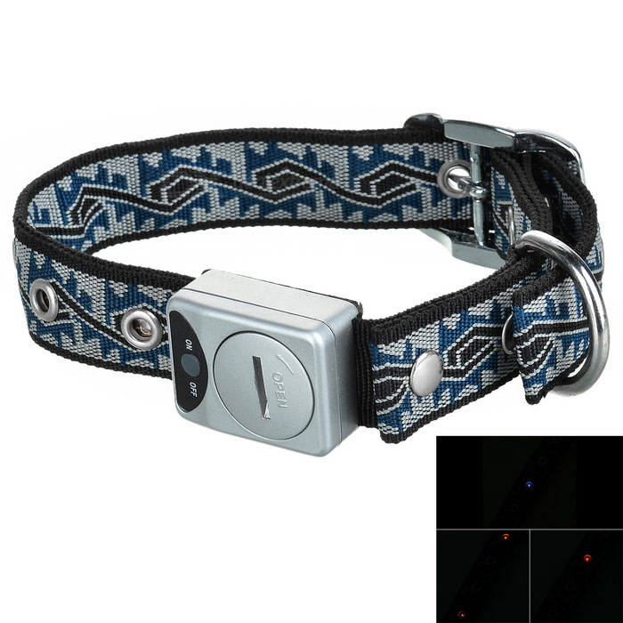 Collar LED intermitente Dog