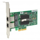 HP NC360T 1000M PCI-E x4 Dual Port RJ45 Ethernet Network Server Adapter
