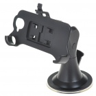 Plastic Car Swivel Mount Holder with Car Charger for HTC Desire & Google Nexus One (DC 12~24V)