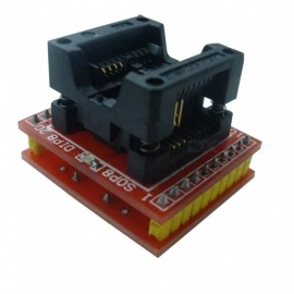 OJADE Sop8 to DIP8 Wide Body Burner Head Conversion Adapter, Chip IC Test Block 25Q IC Series Seat