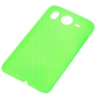 Mesh Protective PC Plastic Back Case for HTC Desire HD (Green)