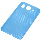 Mesh Protective PC Plastic Back Case for HTC Desire HD (Blue)
