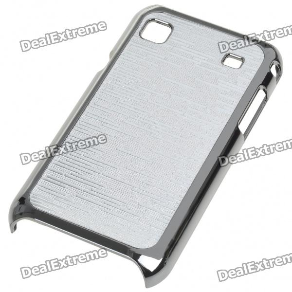 Electroplating Protective PC Back Case for Samsung i9000 Galaxy S (Silver)