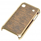 Electroplating Protective PC Back Case for Samsung i9000 Galaxy S (Golden)