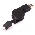 USB Retractable Charging Cable for HTC Desire HD/Desire/HD2/Google Nexus One 