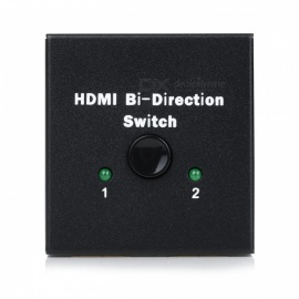 HDMI to HDMI HD 4K Bi-Directional Switch - Black