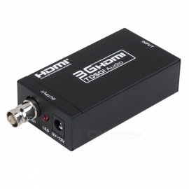 Mini 3G HDMI to SDI 1080P Converter - Black