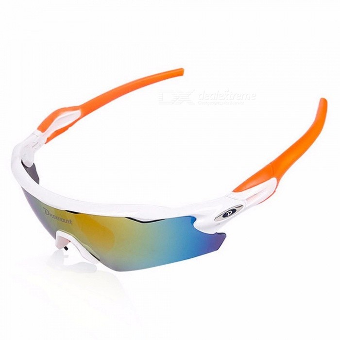 478a572a1b6 ... Deemount Polarized Sports Men Sunglasses Cycling Glasses Mountain Bike  Bicycle Riding Protection Goggles Eyewear 5 Lens ...