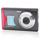 "8.1MP CMOS Compact Digital Video Camera with 4X Digital Zoom/USB/SD - Black (3.0"" TFT LCD)"