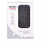 Mini Rechargeable Bluetooth 2.0 Wireless Keyboard for Android/Nokia Symbian S60 Cellphones - Black