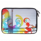 "Colorful Protective Soft Bag with Zipped Close for 10"" Laptop"