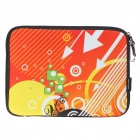 "Stylish Protective Soft Bag with Zipped Close for 10"" Laptop (Orange)"