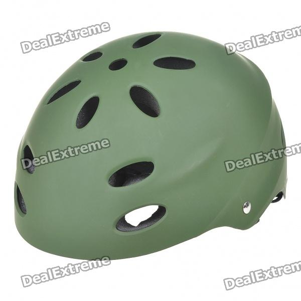 Safety PVC Paratrooper Helmet (Army Green)