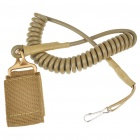 Tactical Gun Sling with Strap & Hook - Khaki + Army Green