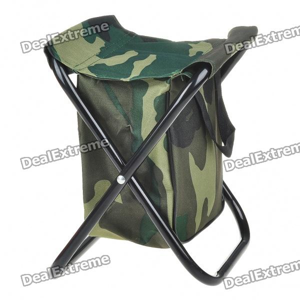 Canvas Foldable Fishing Stool with Bag (Camouflage) 17 styles shoe stool solid wood fabric creative children small chair sofa round stool small wooden bench 30 30 27cm 32 32 27cm