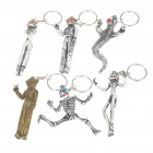 Horrible Big Ghosts Keychains Set (6-Piece Pack)