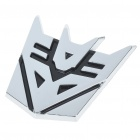 PVC Plastic Transformers Style Sticker