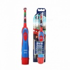 Oral B Electric Toothbrush Kids Soft Bristle Gum Care Powered Toothbrushes AA Baterry Replaceable Brush Head Pink