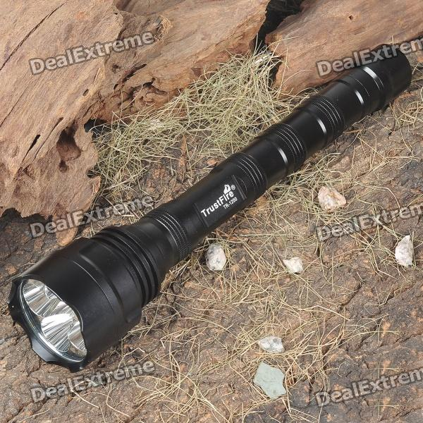 TrustFire TR-1200 Cree Q5 WC 5-Mode 1200-Lumen White 5-LED Flashlight (2x18650/3x18650/4x16340)