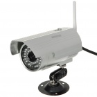 300KP Wi-Fi Network Surveillance Wireless IP CCTV Camera with 36-IR LED Night-Vision/RJ45