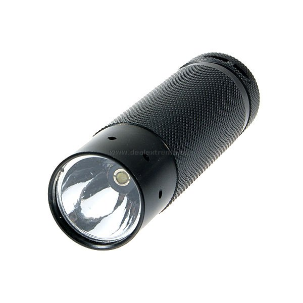MXDL 5W LED Flashlight Black (3xAAA)