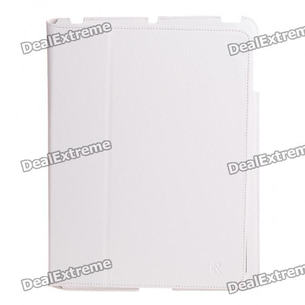 Ultrathin Protective PU Leather Case for   Ipad 2 - White