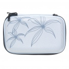 "Protective Canvas Cloth Hard Carrying Case Bag for 2.5"" HDD/Digital Devices (Random Color)"