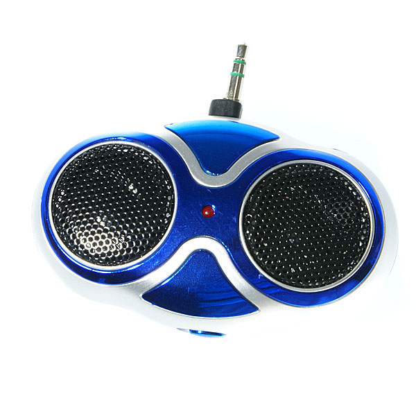 Mini Battery Powered Mini Stereo Speaker