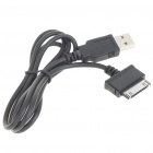 USB Data Transmission + Charging Cable for Dell Streak Mini 5 - Black (80CM-Length)