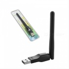 Ralink RT5370 USB 2.0 150mbps WiFi Wireless Network Card 802.11 B/g/n LAN Adapter With Rotatable Antenna Black