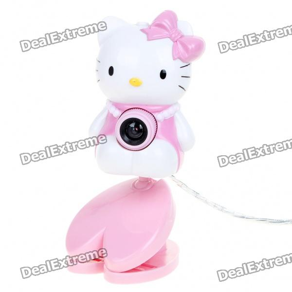 Nettes Hallo Kitty Abbildung 1.3MP USB 2.0 PC-Webcam mit Clip