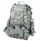 4-in-1 Travel Oxford Cloth Backpack Double-Shoulder + Waist Bags - Digital Camouflage