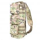 Military Utility Shoulder Go Pack Bag - Woodland Camouflage