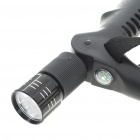 4 Sección Montañismo Telescopic Pole palillo con 9-LED luces + Compass (4 AG13/110CM-Length x)