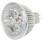 MR16 4W 4-LED 360-Lumen 7000K White Light Bulb (12V)