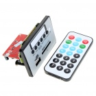 "Digital Audio MP3 Player Module with Remote Controller (1.4"" LCD)"