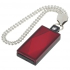 USB 2.0 Mini Diamond Style USB Flash/Jump Drive - Red (2GB)