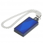 USB 2.0 Mini Diamond Style USB Flash/Jump Drive - Blue (4GB)