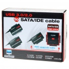 888U3 USB 3.0 vers SATA / IDE Cable Set