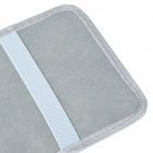 Car Sun Visor CD/DVD Holder - Grey (Holds 12-Disc)