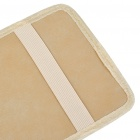 Car Sun Visor CD/DVD Holder - Wheat (Holds 12-Disc)