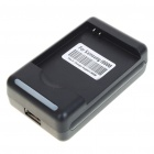 USB/AC Battery Charging Cradle for Samsung i9000 (AC 100~240V/2-Flat-Pin Plug)