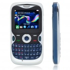 "G12 2.0"" LCD Tri-SIM Tri-Network Standby Quadband GSM Cell Phone with FM - Blue"