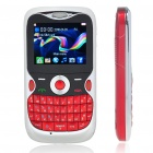 "G12 2.0"" LCD Tri-SIM Tri-Network Standby Quadband GSM Cell Phone with FM - Red"