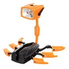 Mini Transformer Robot White LED Flashlight (3 x AG3)