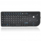 2.4GHz Wireless Programmable Multimedia Keyboard with Trackball Mouse for PC/Tablet