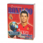 Cristiano Ronaldo Figure Image Style Paper Playing Cards Poker Set (54-Piece Set)