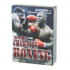 Champions Boxing Image Style Paper Playing Cards Poker Set (54-Piece Set)