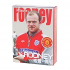 Wayne Rooney Figure Image Style Paper Playing Cards Poker Set (54-Piece Set)