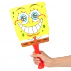 Cute Cartoon Style Sponge Rackets + Plastic Ball Toy - SpongeBob SquarePants
